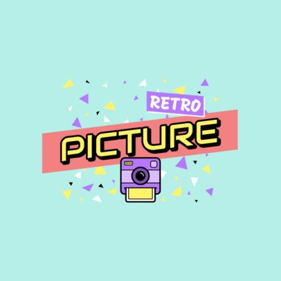 Photography Logo Maker with a Retro Style 2628h-103-el