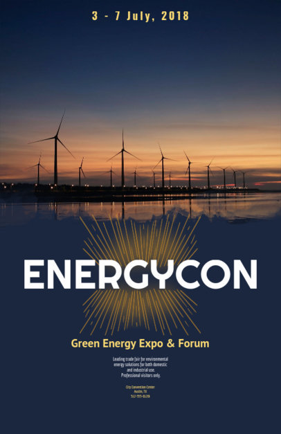 Flyer Maker for Green Energy Energy Conferences 119d
