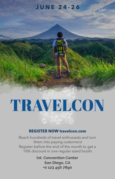 Flyer Template for Tourism Trade Fairs 119e