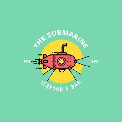 Logo Maker for a Seafood Restaurant & Bar 1758i-248-el