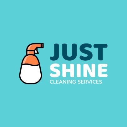 Online Logo Creator for Cleaning Services Companies 1204f-148-el