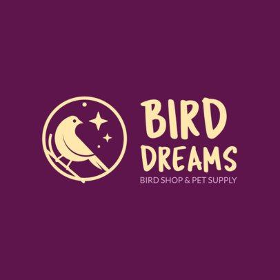 Online Logo Maker for a Bird Shop 1191h 191-el