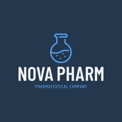 Modern Logo Maker for a Pharmaceutical Company 1172k-201-el