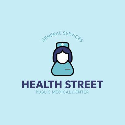 Medical Logo Maker with Minimal Icons 257-el