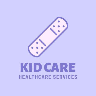 Pediatric Healthcare Logo Maker 257d-el