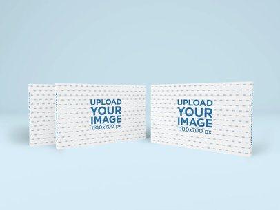 Mockup of Three Packaging Boxes 1698-el