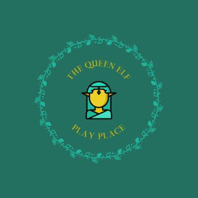 Fairytale Logo Maker for a Playground 318c-el