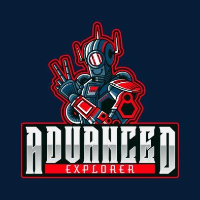 Apex Legends-Inspired Logo Maker Featuring a Robot Illustration 2791e