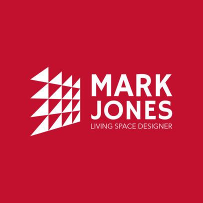 Modern Logo Template for Interior Design Firms 1210p 2796