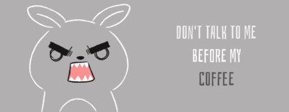 Funny Mug Design Maker with a Mad Rabbit Graphic 2075j