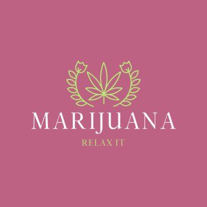 Logo Generator for Marijuana Products Brands 386a-el1