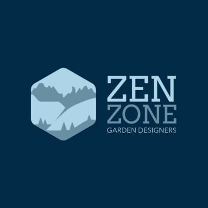 Logo Maker for a Garden Design Studio 1435n-2797