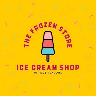 Cool Logo Generator for Ice Cream Shops 508-el1