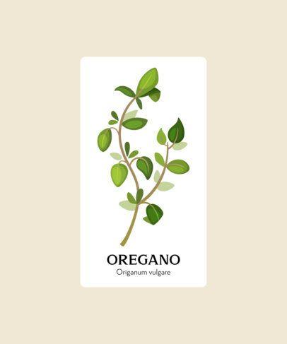 T-Shirt Design Maker Featuring Herbs Illustrations 206-el1