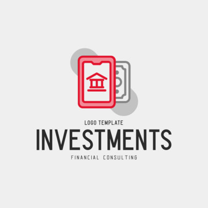Online Logo Maker for a Financial Consulting Provider 484a-el1