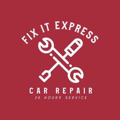 Online Logo Template for a Car Repair Shop 462-el1