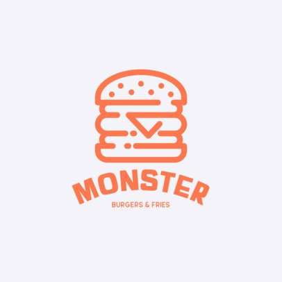Restaurant Logo Creator with Fast Food Graphics 457-el1