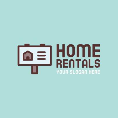 Home Rental Logo Generator 260a-el1