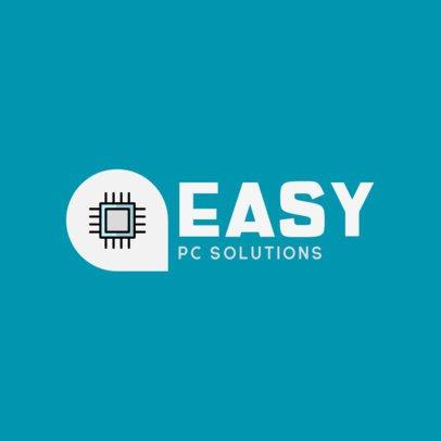 Simple Logo Creator for a PC Repair Center 389b-el1