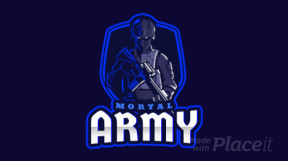 Counter-Strike-Inspired Animated Logo Maker with a Menacing Character Illustration 2449u