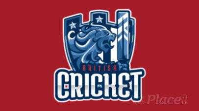 Animated Logo Maker for an International Cricket Team 1652e