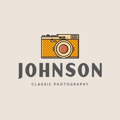 Logo Template for a Classic Photography Studio 337b-el1