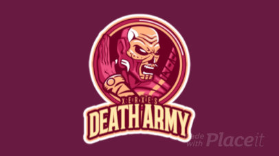 Animated Gaming Logo Maker for a Deadly Gaming Clan 1746c