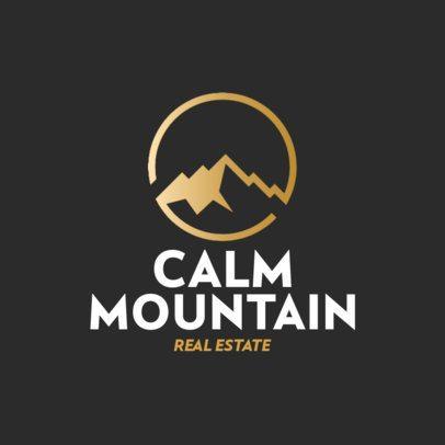 Real Estate Logo Maker with Minimalistic Illustrations of Scenarios 561-el1