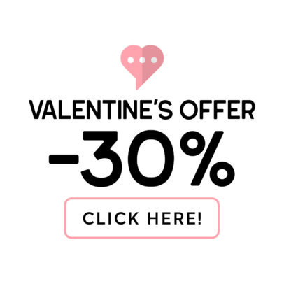 Banner Creator for a February 14th Offer 611b-el1