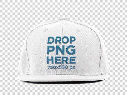 Hat Mockup Over a Transparent PNG Background 11703