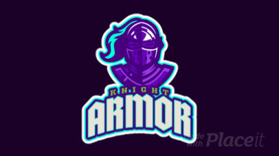 Animated Logo Creator with a Medieval Knight Illustration 2613dd-2888