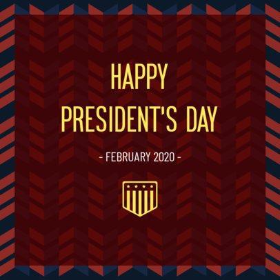 President's Day Instagram Post Generator 2201b