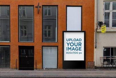 MUPI Mockup Featuring a Building with Big Windows 2489-el1