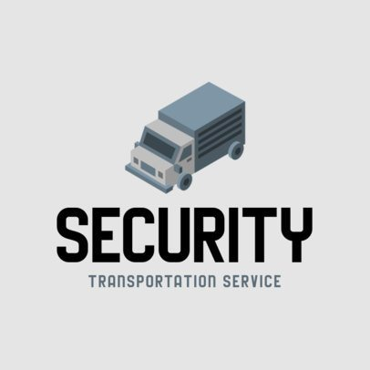 Logo Template for Security Transportation Services 702c-el1
