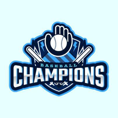 Sports Logo Maker with a Baseball-Themed Emblem 1748u-2927