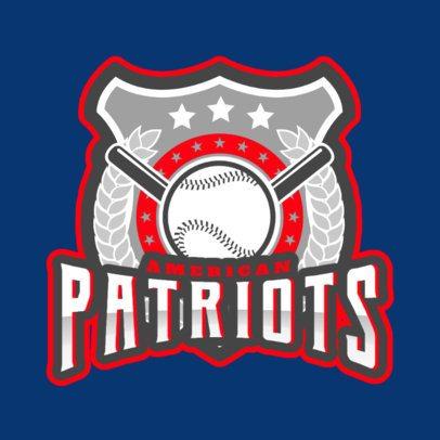 Baseball Logo Template Featuring a Cool Emblem 172ss-2931