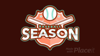Animated Baseball Logo Template for Sport Teams 172oo-2931