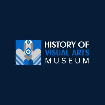 Contemporary Logo Maker for an Art Museum 816a-el1