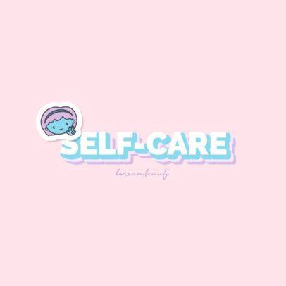 Beauty Logo Maker with Cute Cartoonish Characters 2949