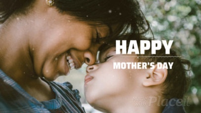 Photo Slideshow Video Maker for Mother's Day 1319a 1748