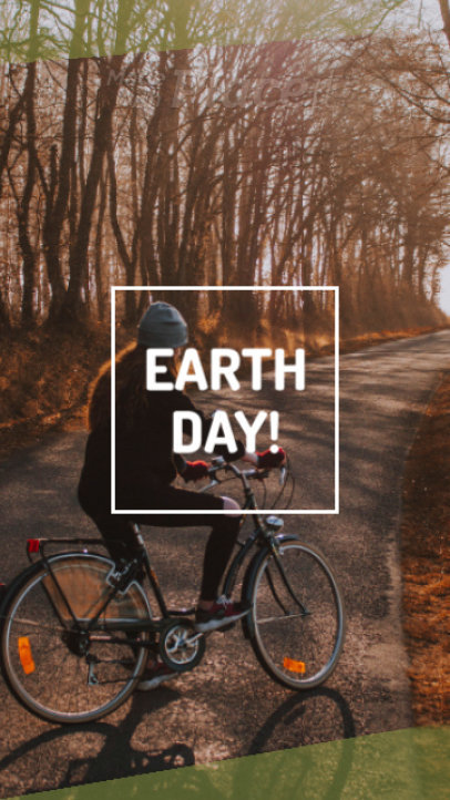Instagram Story Video Maker for an Earth Day Offer 1271c 1837