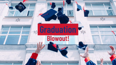 Slideshow Maker for a Graduation Promotional 1299b-1849