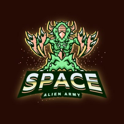 StarCraft-Inspired Logo Creator with an Insectoid Alien Illustration 2959f