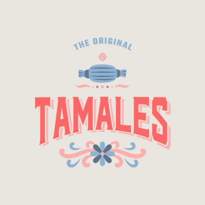Online Logo Maker for a Mexican Restaurant With Colorful Illustrations 2976
