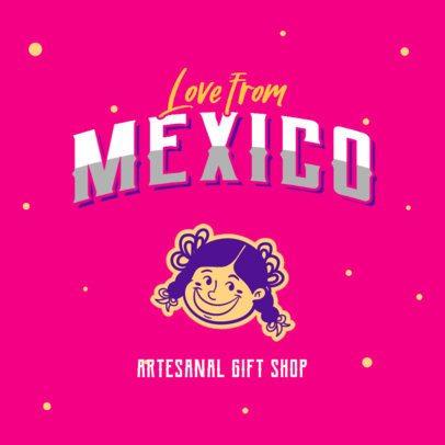 Mexican Logo Creator for an Artesanal Gift Shop 2978d