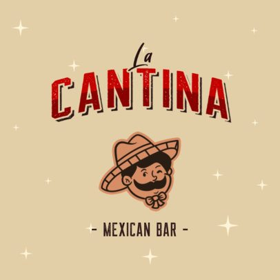 Cool Logo Maker for a Mexican Bar 2978f