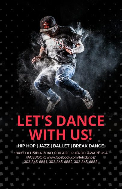 Online Flyer Maker for a Dance Class 139a
