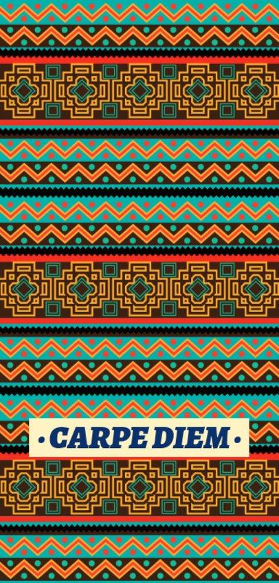 Colorful Phone Case Design Generator Featuring an Intricate Pattern 2307f