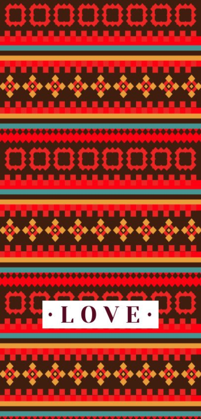 Modern Phone Case Design Maker Featuring a Cool Textile-Inspired Pattern 2307h