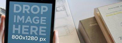 Nexus 7 Portrait Office Environment Wide